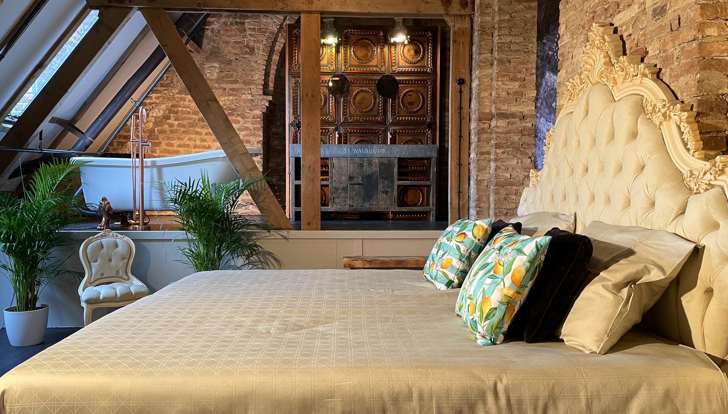 Castellum Arnhem   Master slaapkamer