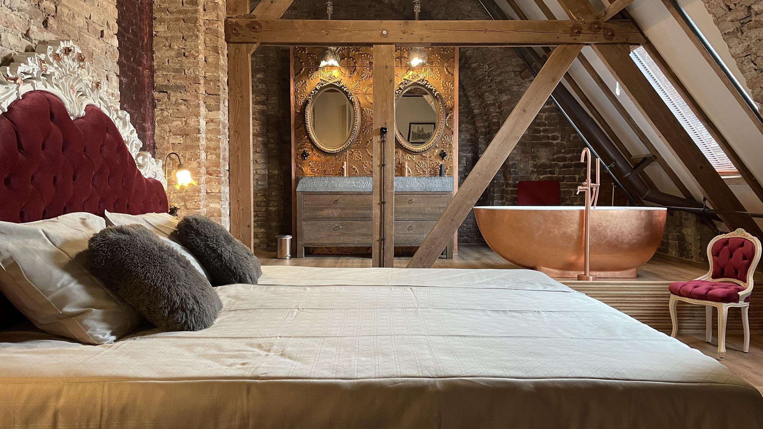 Lodewijk Napoleon   Master slaapkamer